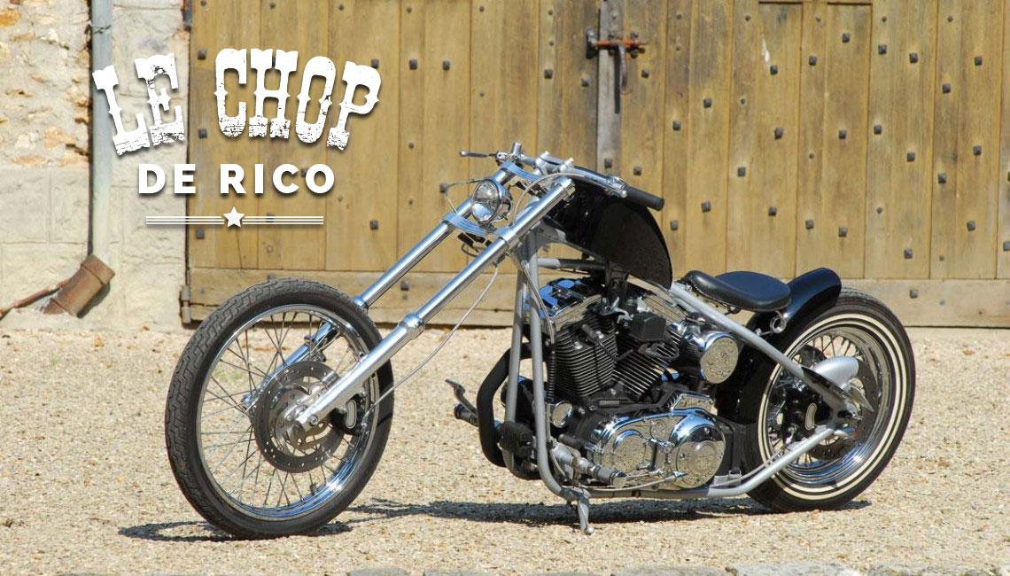 Sportster 1200 – Le Chop' de Rico