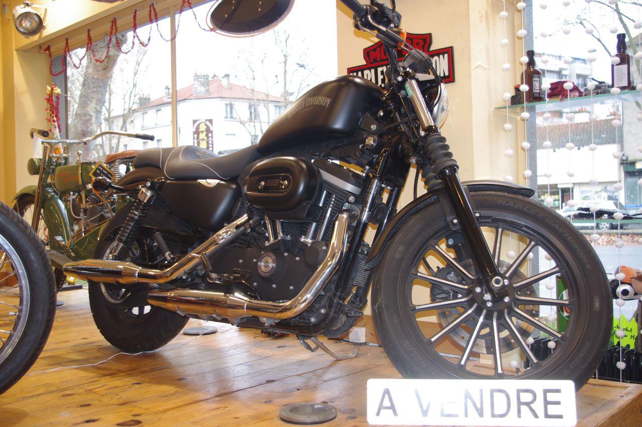 moto occasion harley davidson iron 883 occasion cycle et bike. Black Bedroom Furniture Sets. Home Design Ideas