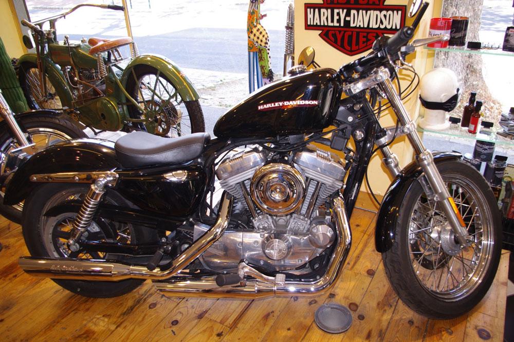 moto occasion harley davidson sportster low 883 cycle et bike. Black Bedroom Furniture Sets. Home Design Ideas