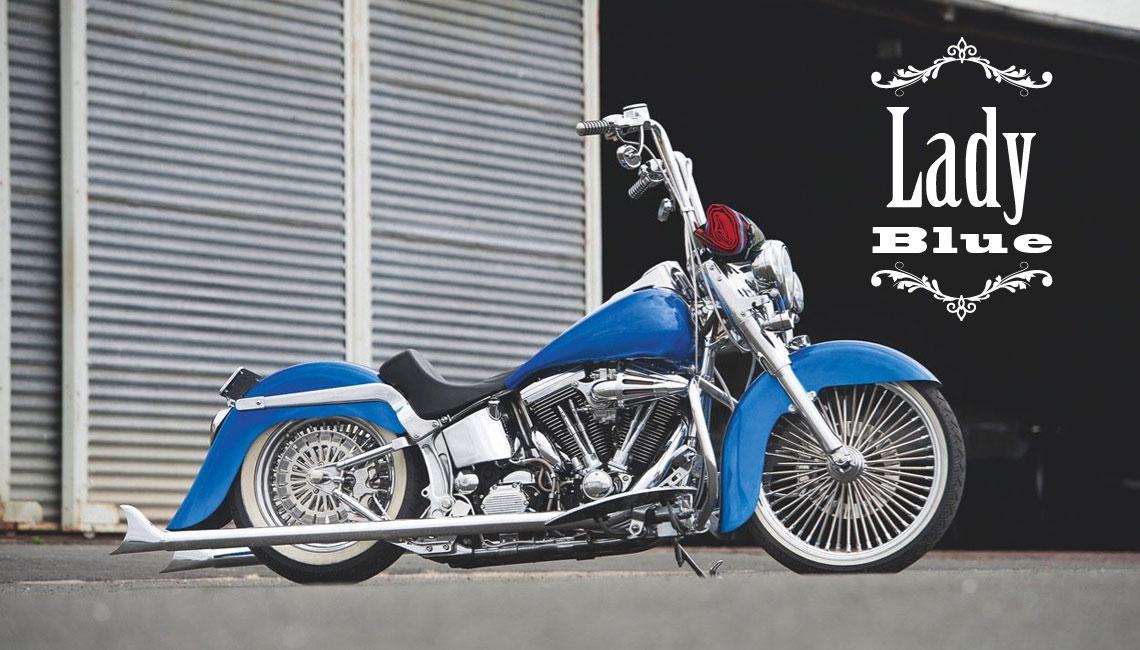 Harley Davidson Lady Blue